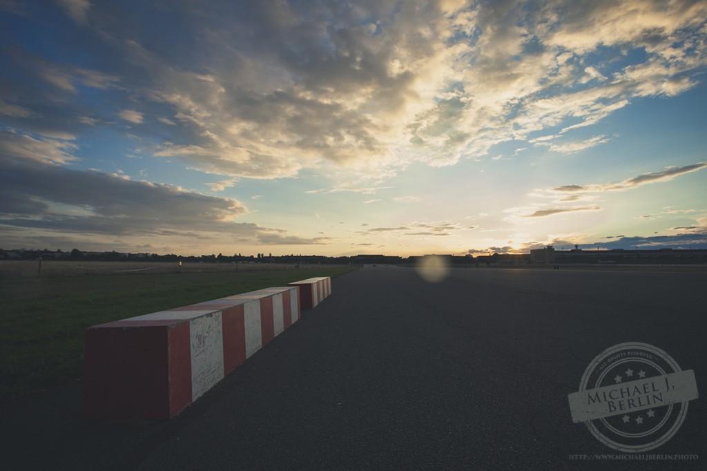 Sonnenuntergang Tempelhof