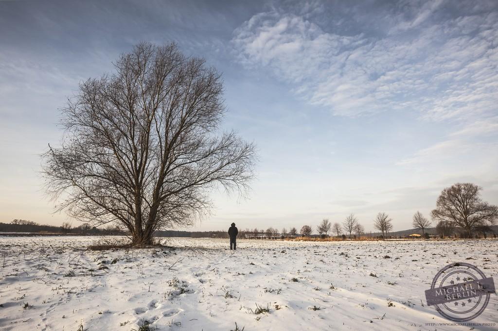 """Inspiriert durch die Arbeiten eines Kollegen, habe ich mich dann sogar daran gewagt, einen """"Selfie mit Baum"""" zu schiessen"""