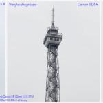 Vergleich Detailschärfe von Canon 5DS R gegenüber 5D Mark II